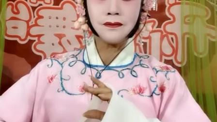 楚剧《赵玉珍装疯》演唱者(吕虹)