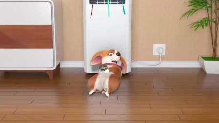 我在主人,你是想吃我的爆烤狗蹄吗截了一段小视频