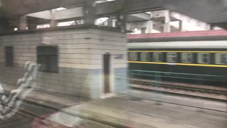 【车厢视角】Z122次(广州-成都)通过咸宁站