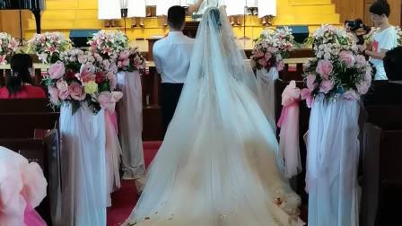 刘也和南娅结婚快乐,主恩祝福满满!🌹🌹🌹🌴🌴🌴