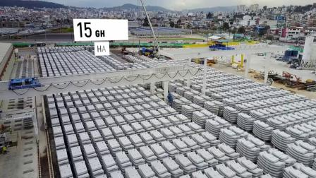GH participation in the new Quito metro