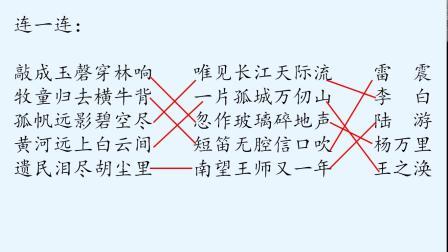 6.24语文五年级下册《古诗词和仿写复习课》刘赵英