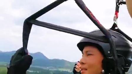 滑翔伞双人