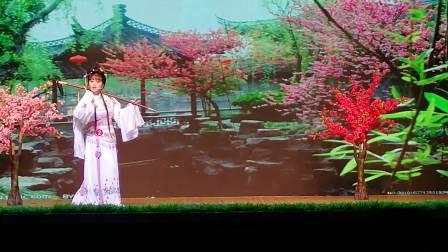 浦江越剧戏迷:在上河戏迷决赛中演唱《林黛玉葬花》,