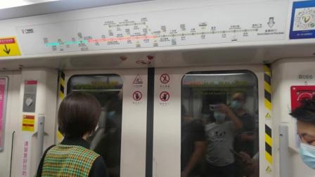 [2020.6]广州地铁3号线(白云大道北-嘉禾望岗)区间运行