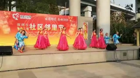 深圳市玉雅居艺术团开场舞《母亲是中华》