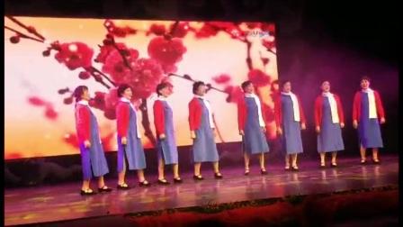 深圳市畔山社区京歌表演《红梅赞》