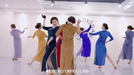青岛Lady.S舞蹈 谍战剧情 舞剧《应不消逝的电波》旗袍舞