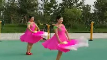 扇子舞,《我的祖国》