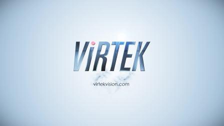 Virtek视觉国际新版 Logo 效果展示