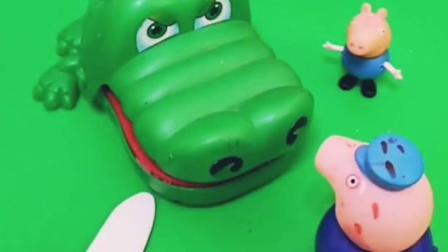 乔治放学回家找朋友玩,怎么乔治的猪猪不见了,谁知道在哪吗?