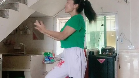 会昌麻州广场舞(我爱你胜过你爱我)健身操