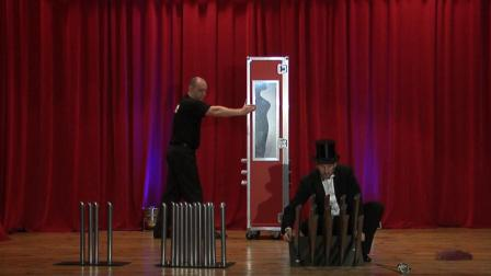 Amazing Magic RedBox - Cabinet Illusion by Markus magician