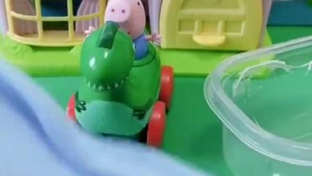 大家都不喜欢乔治了,乔治准备要离家出走,猪爸爸猪妈妈会留吗?