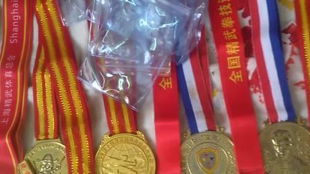 佟茂锋的奖牌展示(2)