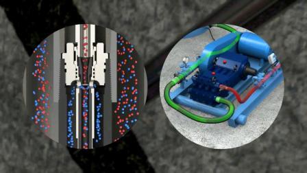 Hydra-Cell高压泵系统和JJ Tech射流系统 开采石油天然气,颠覆传统开采油气