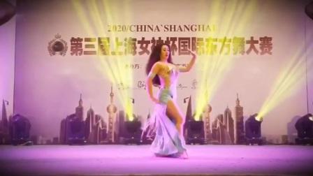 第三届上海女神杯国际东方舞大赛Gala Show 演出嘉宾:石英 Sofia  演出舞蹈:Classic Song:Ya Masfer Wahdak