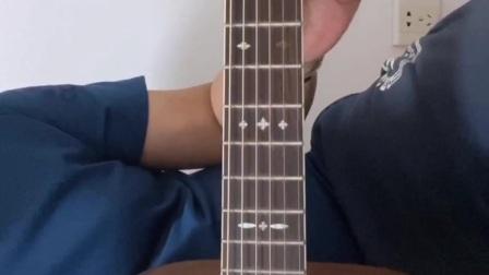 吉他入门 音阶标准指法和弹奏要领
