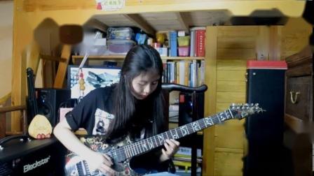【电吉他】暑假啦!弹个地狱吉他的天马座幻想恢复一下~