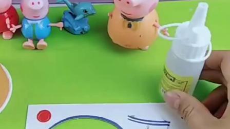 乔治介绍自己的朋友小海豚,佩奇看到也想玩,乔治怎么不让玩呢?