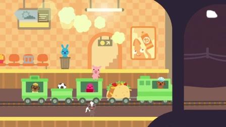 儿童类手机游戏第39期:赛哥迷你小火车