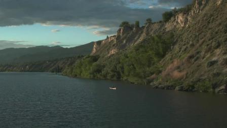 加拿大BC省葡萄园、山谷和湖泊