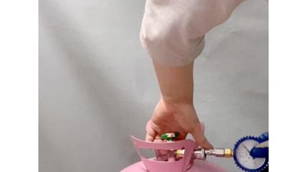 低压氦气罐 测压表使用操作