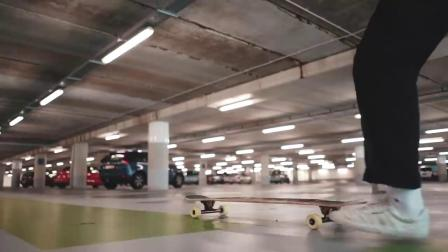 鹿特丹 - Longboard Dance x Freestyle, Travel Video