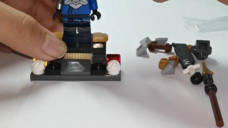 LEGO乐高幻影忍者第十三季杰人仔评测