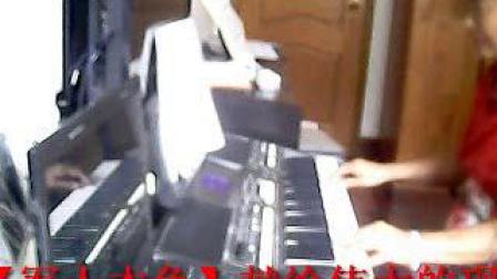 雅马哈S670电子琴弹奏【军人本色】