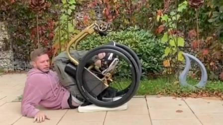 Paraplegic Wheelchair-Ground