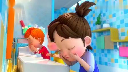 少儿超级宝贝:刷刷牙心情好好,我是好宝宝,你学会了吗