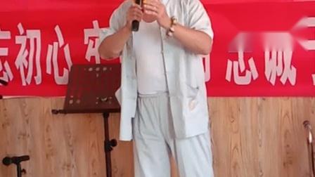 穆家口业余剧社韓克安演唱赵氐孤儿选段,京胡朱术才,司鼓胡国强
