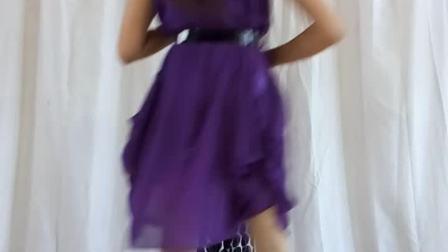 阿文樂樂广场舞、竖屏《玩腻》紫晶广场舞版