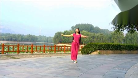 贞贞广场舞《月满西楼》编舞:华子
