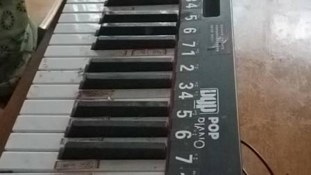 [送别]经典歌曲,电子琴演奏。