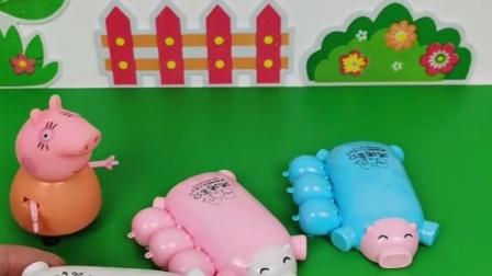 猪妈妈在哪买的小猪玩具,猪妈妈还不会用呢,还要佩奇教妈妈呢?