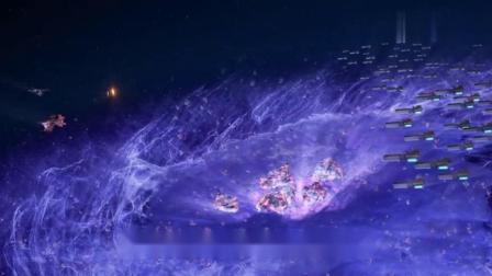 奥特曼:火焰战士用全身燃烧的火焰,引爆整片海洋