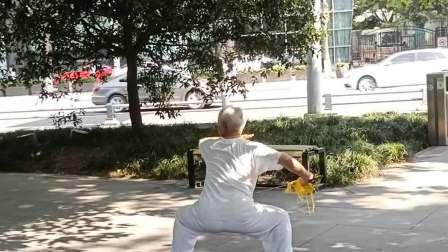 梁光团老师表演武当太极剑
