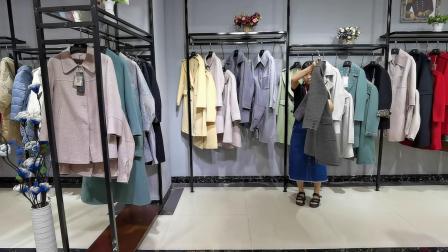 北京高端双面尼--菁姿20年冬出货中 武汉惠品品牌女装一手货源