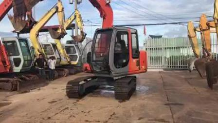日立ZX70挖掘机回啭
