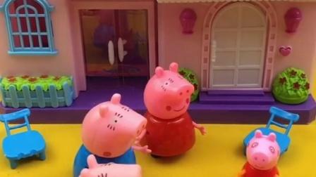 乔治放学回家吃饭,猪妈妈做好饭待在家里,猪妈妈好像多几个吗?