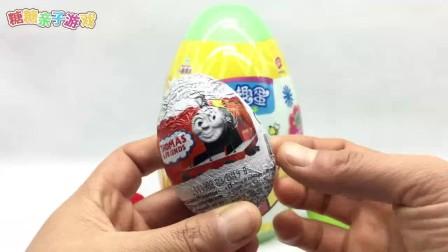 我在光头强拆托马斯小火车奇趣蛋 小熊维尼惊喜蛋截了一段小视频