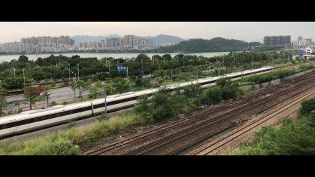 (广佛肇城际)CRH6A 0403肇庆城际场出站