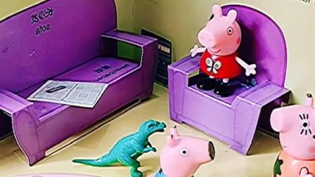 乔治准备当朵朵的弟弟,佩奇姐姐听到很开心,还要告诉猪妈妈吗?