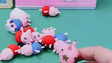 猪妈妈快要生孩子了,佩奇看到也想要妈妈抱,猪爸爸也想要抱啊!