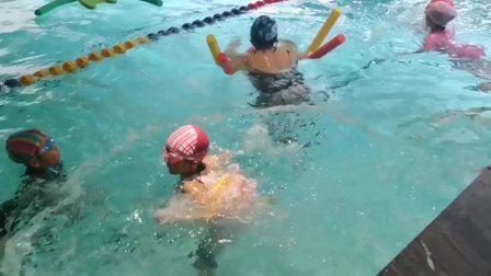 学游泳第六天