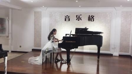 丁怡然--钢琴十级练习曲《博士》