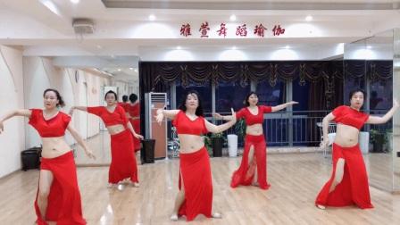 郑州肚皮舞晚间提升班《你是玫瑰》—雅萱舞蹈瑜伽