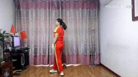 淄博市临淄雪之舞精华版第三套快乐舞步健身操分解